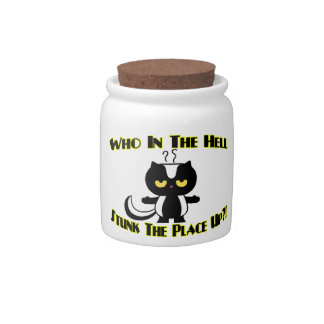 Stunk The Place Up Skunk Candy Jars