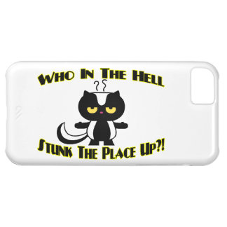 Stunk The Place Up Skunk iPhone 5C Case