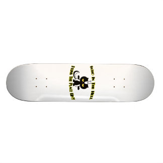 Stunk The Place Up Skunk Skateboard