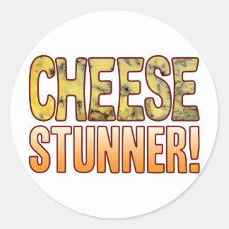 Stunner Blue Cheese Classic Round Sticker