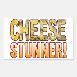 Stunner Blue Cheese Rectangular Sticker