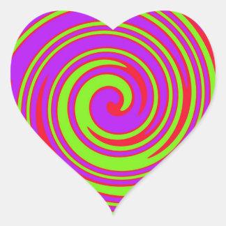 Stunner! Heart Sticker