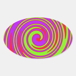 Stunner! Oval Sticker