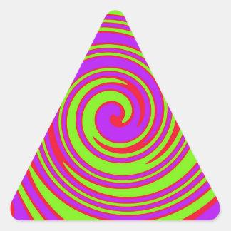 Stunner! Triangle Sticker