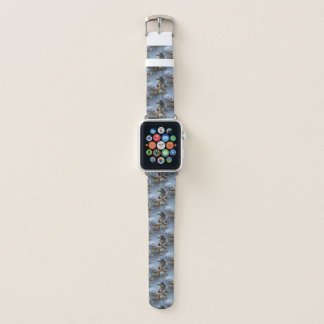 Stunning African Grey Parrot Apple Watch Band
