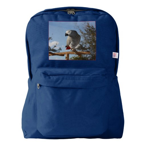 Stunning African Grey Parrot Backpack Zazzle