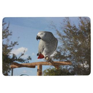 Stunning African Grey Parrot Floor Mat