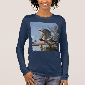 Stunning African Grey Parrot Long Sleeve T-Shirt
