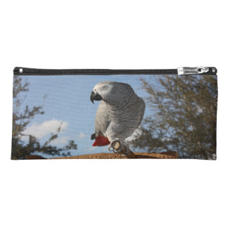 Stunning African Grey Parrot Pencil Case