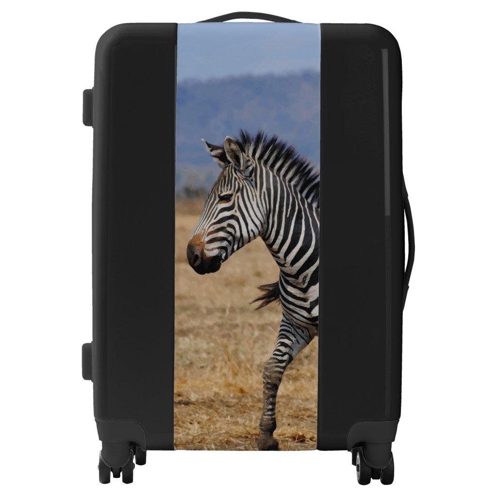 African Zebra picture Suitcase