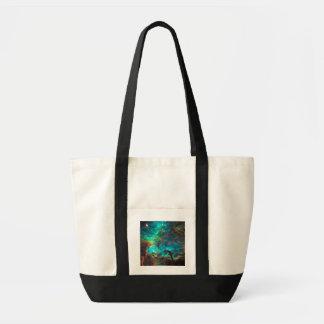 Stunning Aqua Star Cluster Bag