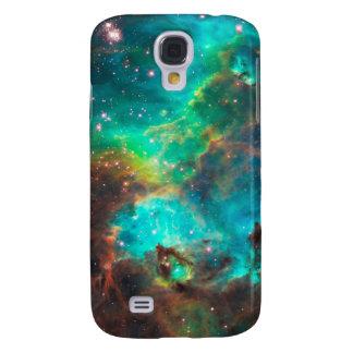 Stunning Aqua Star Cluster Galaxy S4 Covers