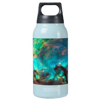 Stunning Aqua Star Cluster Insulated Water Bottle