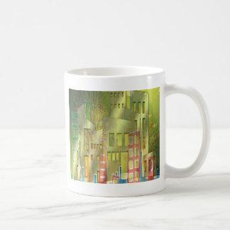 Stunning architecture cityscape art accessories classic white coffee mug