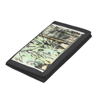 Stunning Arty Forest Trees Wallet
