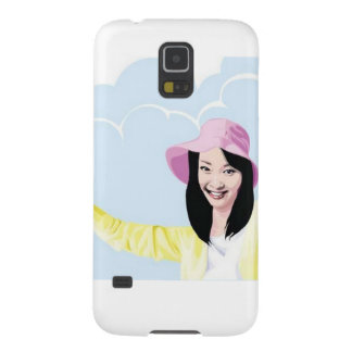 Stunning Asian girl Case For Galaxy S5