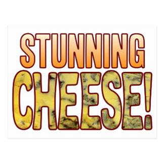 Stunning Blue Cheese Postcard