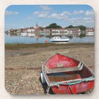 Stunning Bosham Harbour England Beverage Coasters