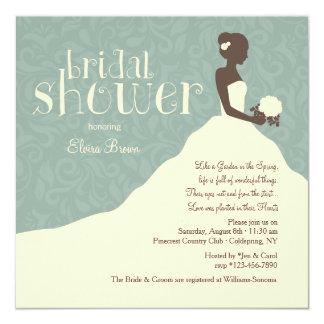 Stunning Bride Shower Invitation