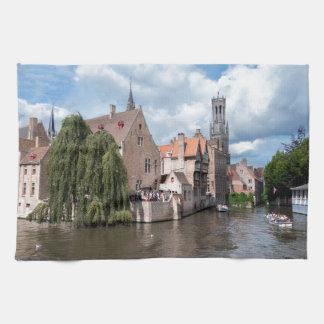 Stunning! Bruges - Belgium Hand Towel