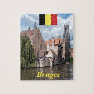 Stunning! Bruges - Belgium Jigsaw Puzzle
