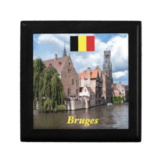 Stunning! Bruges - Belgium Keepsake Box