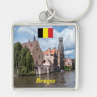 Stunning! Bruges - Belgium Keychain