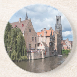 Stunning! Bruges - Belgium Sandstone Coaster