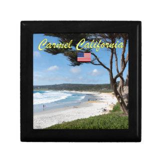 Stunning! CARMEL CALIFORNIA USA Jewelry Box