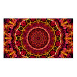 Stunning Chaos kaleidoscope Double-Sided Standard Business Cards (Pack Of 100)