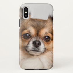 Case-Mate Barely There iPhone X Case with Chihuahua Phone Cases design