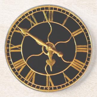 Stunning Clock at Xmas Coaster