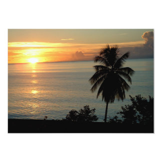 Stunning Color Sunsets Card