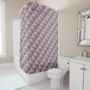 Stunning Dahlias Shower Curtain