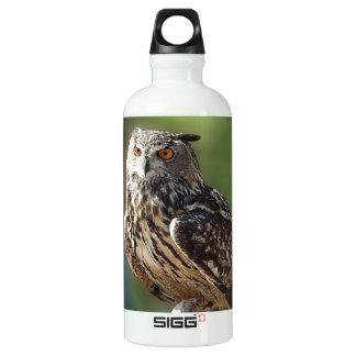 Stunning Eagle Owl with Orange Eyes SIGG Traveler 0.6L Water Bottle