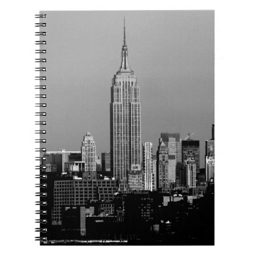 Stunning! Empire State Building New York City Spiral Note Books
