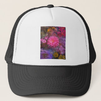 Stunning Flowers Bloom Where They Are Planted Trucker Hat