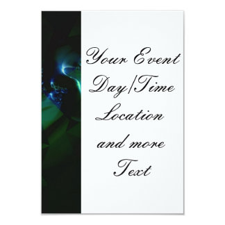 stunning fractal mix (SF) Personalized Announcement Card