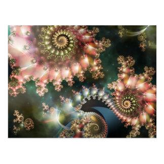 Stunning fractal postcard