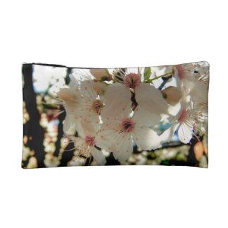 Stunning Fragile Golden Japanese Blossom Sakura Cosmetic Bag