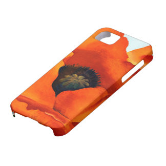 Stunning Georgia O'Keefe Red Poppy Flower iPhone SE/5/5s Case