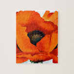 """Stunning Georgia O&#39;Keeffe Red Poppy Jigsaw Puzzle<br><div class=""""desc"""">Stunning Red Poppy (1927) by abstract botanical and landscape artist Georgia O&#39;Keeffe. She lived and worked in New Mexico and New York. Enjoy.</div>"""