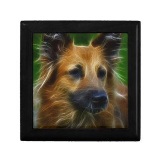 Stunning German Shepherd dog art, accessories gift Gift Box