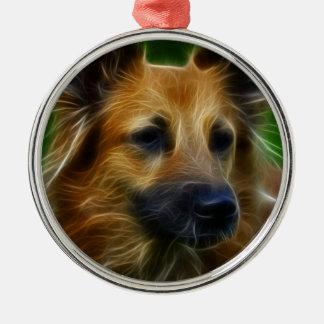 Stunning German Shepherd dog art, accessories gift Christmas Tree Ornament