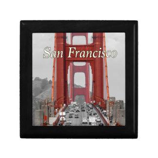 STUNNING! GOLDEN GATE BRIDGE CALIFORNIA USA JEWELRY BOX