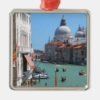 Stunning! Grand Canal Venice Metal Ornament