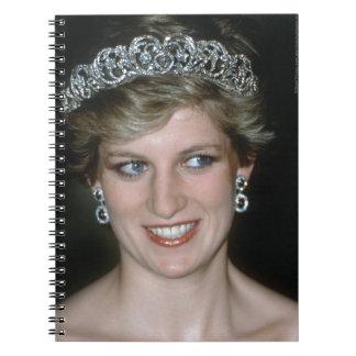 Stunning! HRH Princess Diana Spiral Notebook