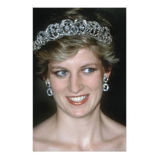Stunning! HRH Princess Diana Customized Stationery