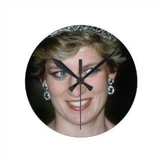 Stunning HRH Princess Diana Wallclocks