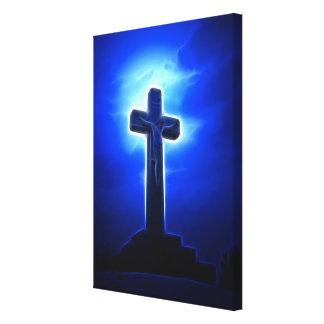 Stunning Jesus Crucifixion Canvas Print